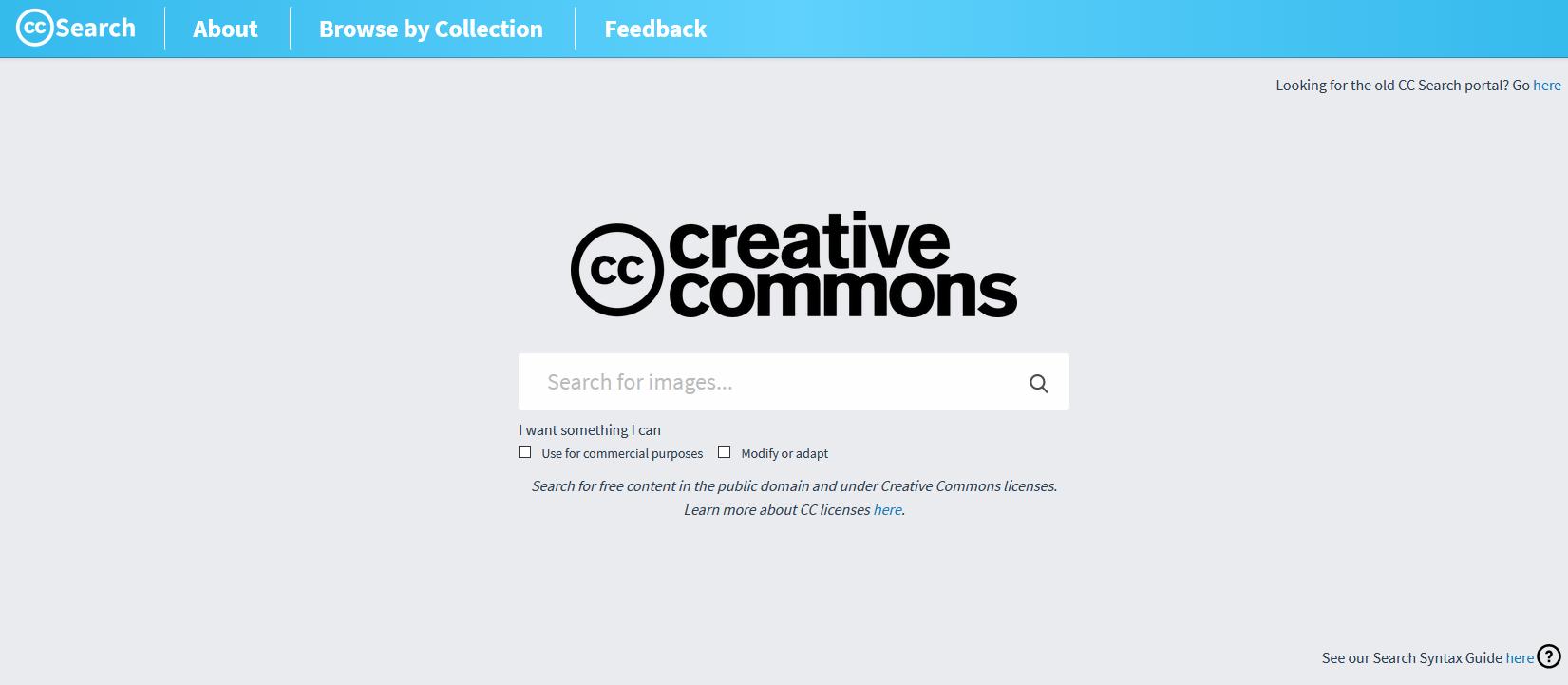 Creative Commons Search – wyszukiwarka obrazów